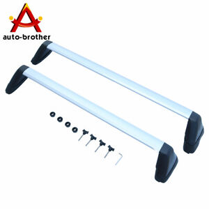 Roof Rack Cross Bar Silver Fits For 2008 2011 Subaru Impreza 2008 2014 Wrx Sti