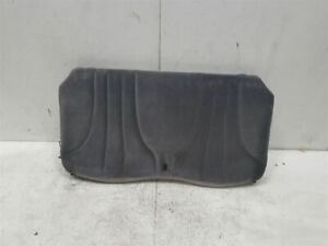 1999 Pontiac Sunfire Rear Seat Back Rest Upper Cushion Cloth Oem 159984