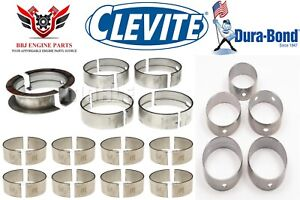Dodge Chrysler Mopar 440 Clevite Rod Main Bearings Durabond Cam Bearings 74 79