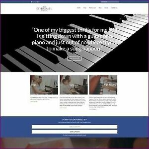Fully Stocked Dropshipping Piano Website Business For Sale Domain Hosting