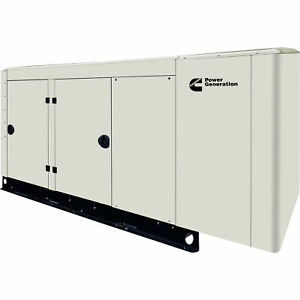 Cummins Commercial Standby Generator 100 Kw Lp ng 277 480v 3 phase Model Rs100