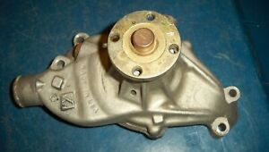 Afi Small Block Chevy Aluminum Short Water Pump Vafi Made In Usa Early Style
