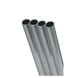 K s Precision Metals 83062 Round Aluminum Tube 5 16 Od X 0 049 Wall Thickn