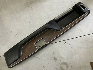 71 72 73 74 Cuda Charger Gtx B E Body Center Console Automatic Black
