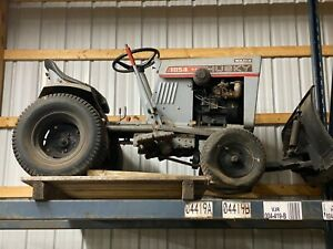 Bolens Husky Model 1054 Lawn And Garden Tractor With Snow Plow