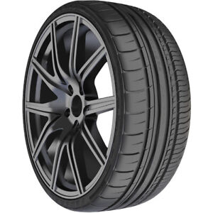 2 New Federal 595 Rpm 255 45r18 99y High Performance Tires