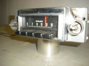 Vintage 1970 Ford Fairlane Montego Original Am Radio D00a 18806 C Tested Working