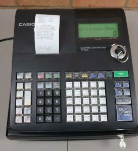 Casio Te 900 Electronic Cash Register Lcd Display Business