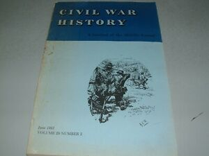 June 1983 Issue Civil War History Desertion Persistence Of Southern Pride