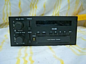 1983 1984 Gm Delco Am Fm Radio Oem Vintage Car Audio Radio Old Original