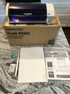 Graphtec Craft Robo Cutter Cc100 20 Vinyl Paper Card Cutter Plotter
