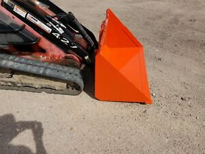 New 48 Wide Light Material Bucket For Mini Skid Steer Fits Dingo And Boxer