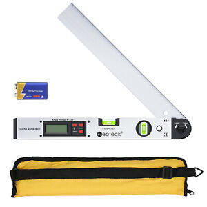 Lcd Electronic Digital Angle Finder Protractor Gauge Ruler Spirit Level Meter