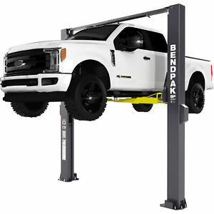 Bendpak Symmetrical Extra high 2 post Lift 10 000 lb Cap Model Xpr 10xls 181