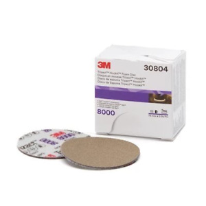 3m Trizact Hookit Foam Abrasive Discs Perfect It 1 Step 3 In 8000 Grit Box Of 15