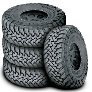 4 New Toyo Open Country M t Lt 315 70r17 Load C 6 Ply Mt Mud Tires