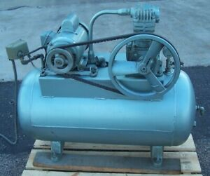 Ideal 2 Hp Reciprocating Air Compressor 115 230 Vac 1 Phase 200 Psi