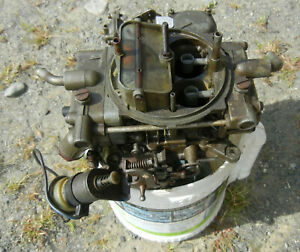 Used Holley 4 Barrel Carburetor From A Ford 150 Truck