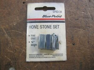 Blue point For Snap on Cf63 34 Brake Cylinder Fine Grit Hone Stone Set a6