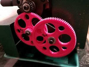 Mini Lathe Change Gear Reduction For Power Feed 20 80 15 90 For Smoother Finish