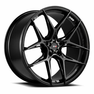20 Savini Sv F5 Gloss Black 20x9 Concave Wheels Rims Tires Fits Toyota Camry