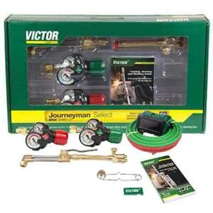 Victor 0384 2082 Journeyman Select Edge 2 0 Acetylene Cutting Torch Outfit