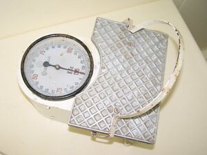 Beautiful Old Bathroom Scale Physician Scale Antique