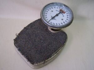 Beautiful Old Bathroom Scale Physician Scale Antique Alexanderwerk Scale