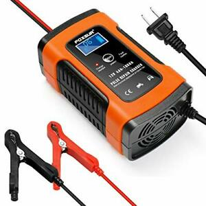 Battery Charger Automotive 5a 12v Maintainer Automatic Smart Battery