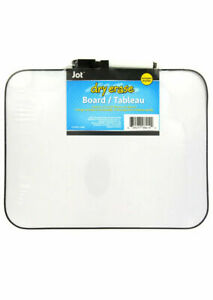 Jot Mini Dry Erase Boards Magnetic With Eraser topped Markers