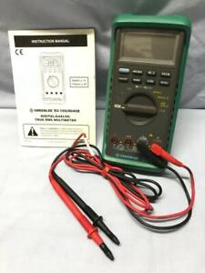 Greenlee Digital analog True Rms Multimeter 1000v With Manual Many Functions