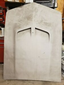 1968 1969 Corvette 427 Hood Black Glass Assembly Line Big Block Original Gm