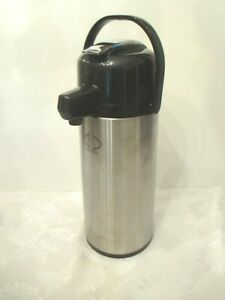 Service Ideas Stainless Lined Lever Coffee Tea Dispenser 2 5 Liter