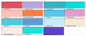 LEE Stage Lighting Gel Filter Lot of 14 Sheets 1 Roscolux Assorted Colors #4 $45.00