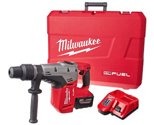 Milwaukee 2717 21hd M18 Fuel 1 9 16in Sds Max Hammer Drill With Accessories