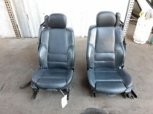 Bmw E46 325i 330i M3 Front Seats Convertible Left Right Pair Black Sport Leather