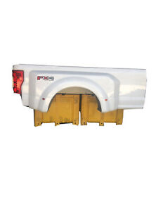 2017 2019 Ford F350 Superduty 8 Ft Dually Bed Box White
