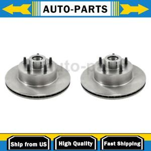 For Ford Granada 2x Durago Front Disc Brake Rotor And Hub Assembly