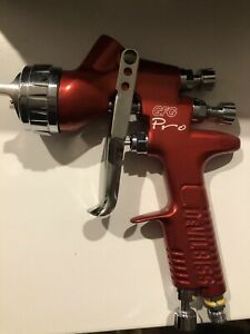 Devilbiss Gfg Pro Conventional Gravity Spray Paint Gun C1 Cap 1 6mm Tip Rrp 699