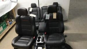 Set Front And Back Row Seats With Floor Console 14 19 Grand Cherokee 2160485