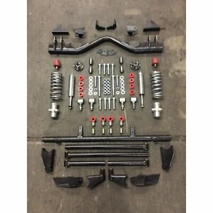 1955 1957 Chevy Tri Five Triangulated 4 Link Kit With Hardware Coilovers Nomad
