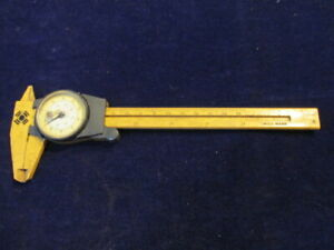 Vintage Swiss Made U Joint Caliper Rule A35