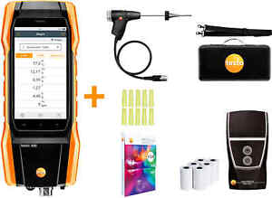 Testo 300 Residential Commercial Combustion Analyzer With Printer 0564 3002