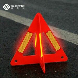 Car Warning Triangles Emergency Traffic Reflective Safety Stop Sign Cross