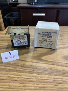 Mars Ii 164 Potential Relay 19164 Continous Coil Voltage In Box