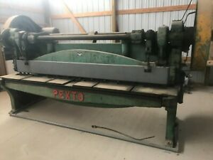 Pexto Metal Shear 10 Foot 10 Gauge Peck Stow Wilcox Co G 3120 e