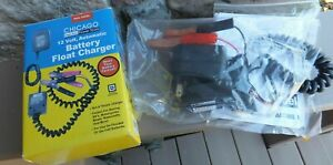 Chicago Battery Float Charger 12v Automatic 42292