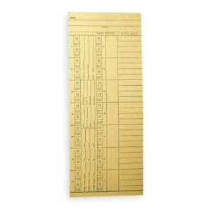 Amano Nk14 4505a Payroll Time Card double Sided pk1000