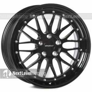 Circuit Performance Cp30 18x8 5 114 3 35 Gloss Black Wheels Lm Style Set Of 4