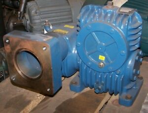 New Textron Cone Drive 500 1 Ratio Gear Reducer 39 Hp 1750 Rpm Mou30c124 a1